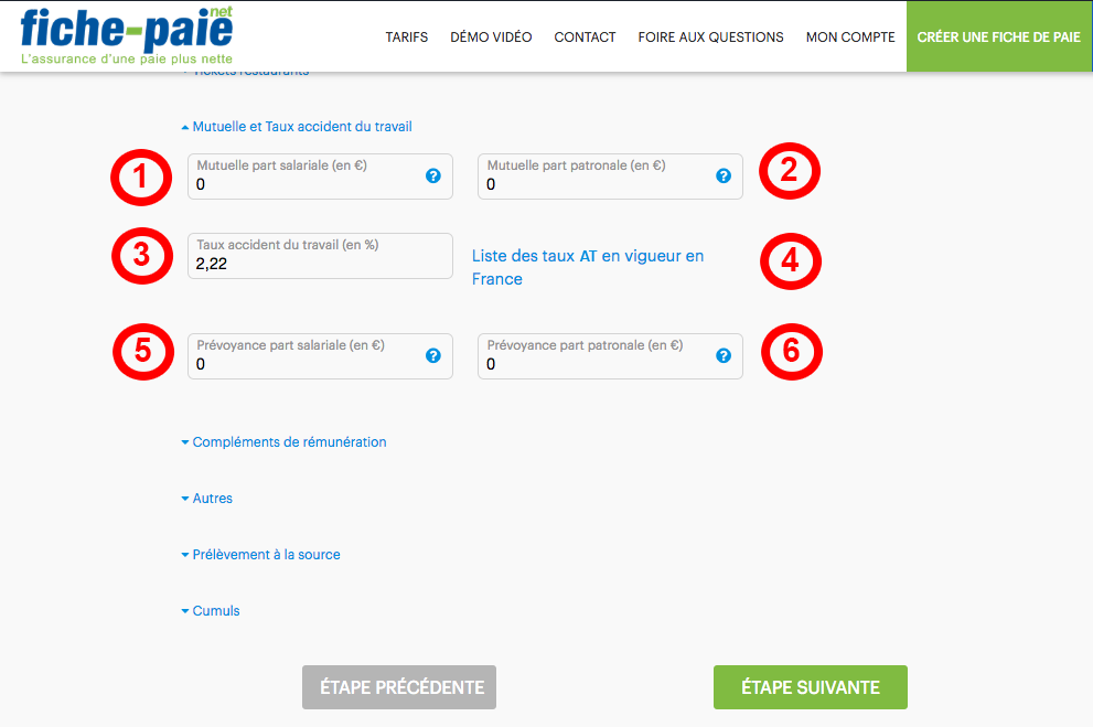 Gestion Mutuelle Prevoyance Taux At Complementaire Sante Fiche